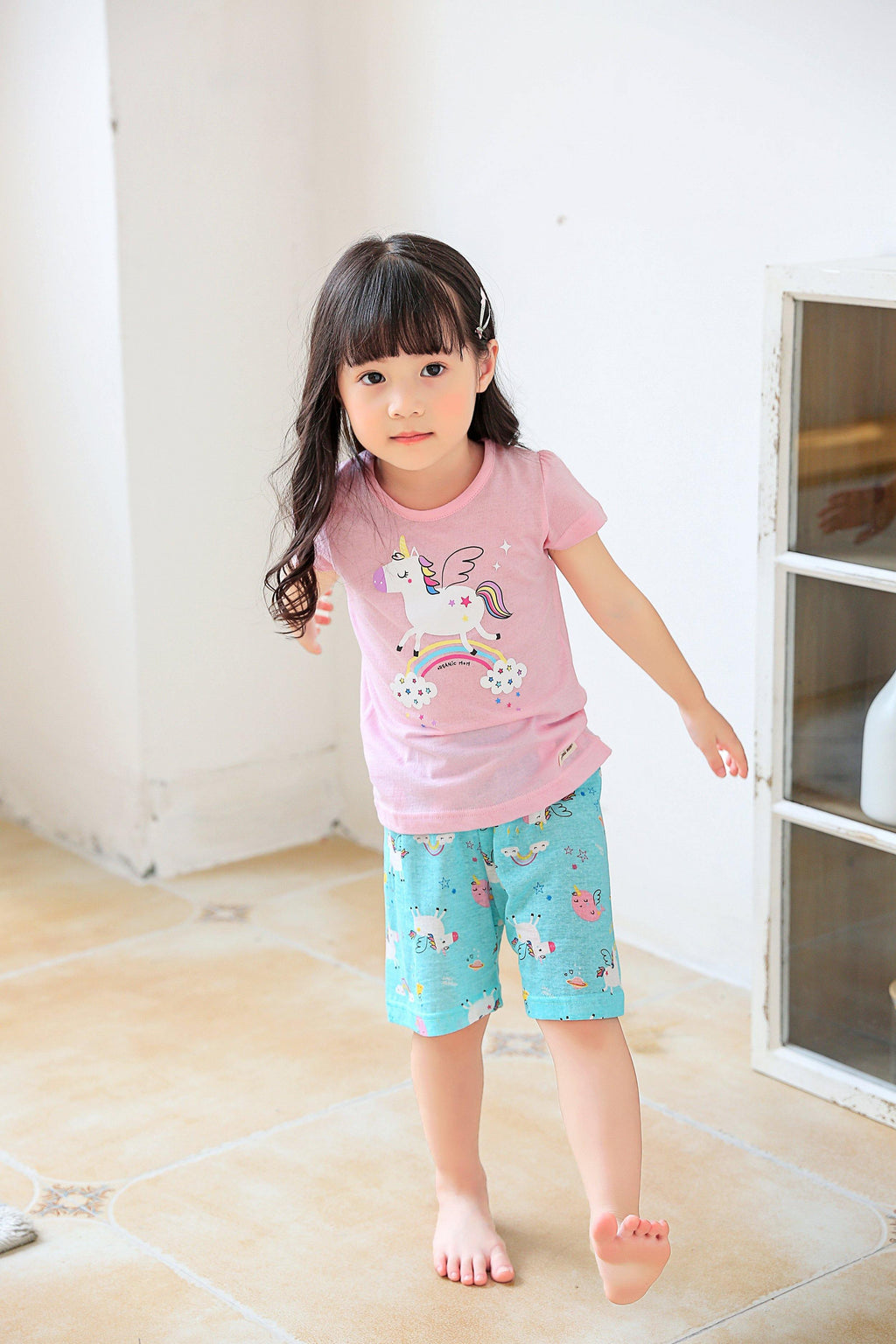 Angela Unicorn Big Girl PJ (Summer)