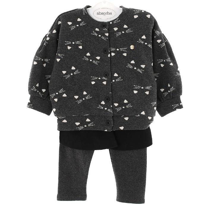 Happyland Kitty Cardigan Pant Set