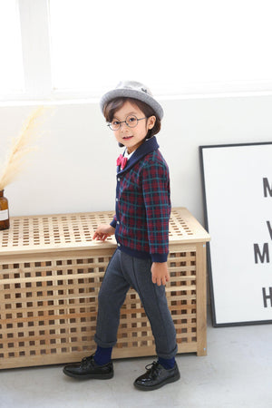 ES Boy Bow Tie Set(Fall/Winter) - Organic Mom Hong Kong