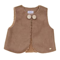 Happyland Delia Faux Leather Vest - Organic Mom Hong Kong