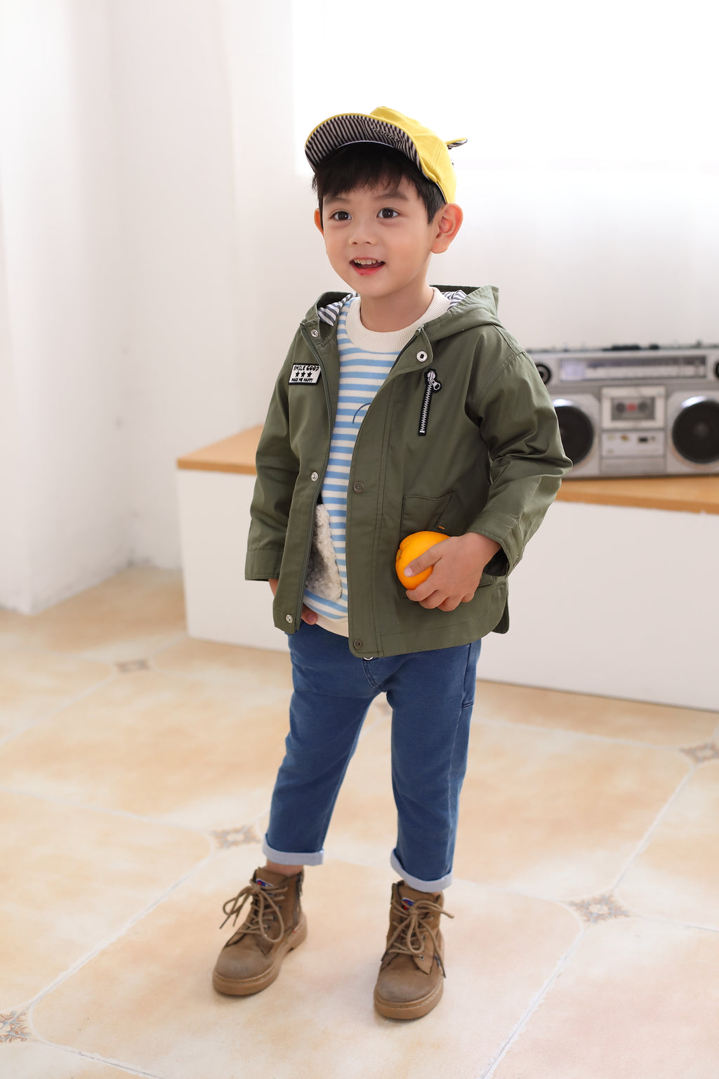Happyland Neo Military Jacket (SPRING)