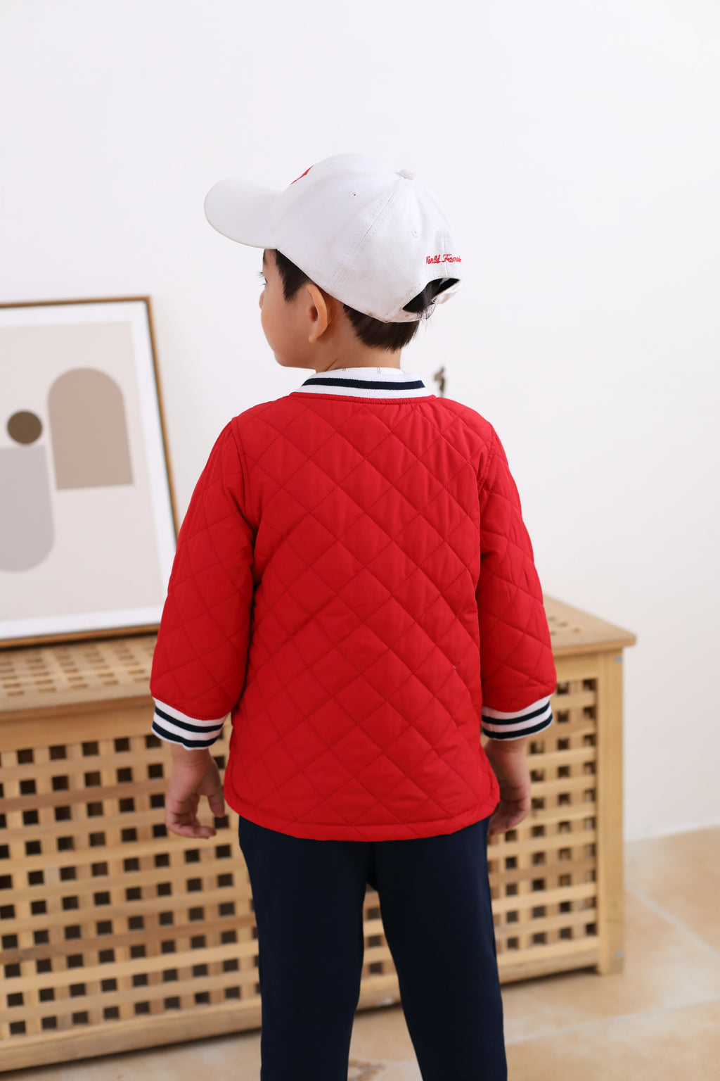 Happyland Aiden Baseball Bomber Jacket (SPRING)