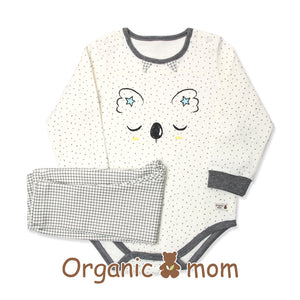 Organic Mom Meet Up Koala Bodysuit Set (FALL)