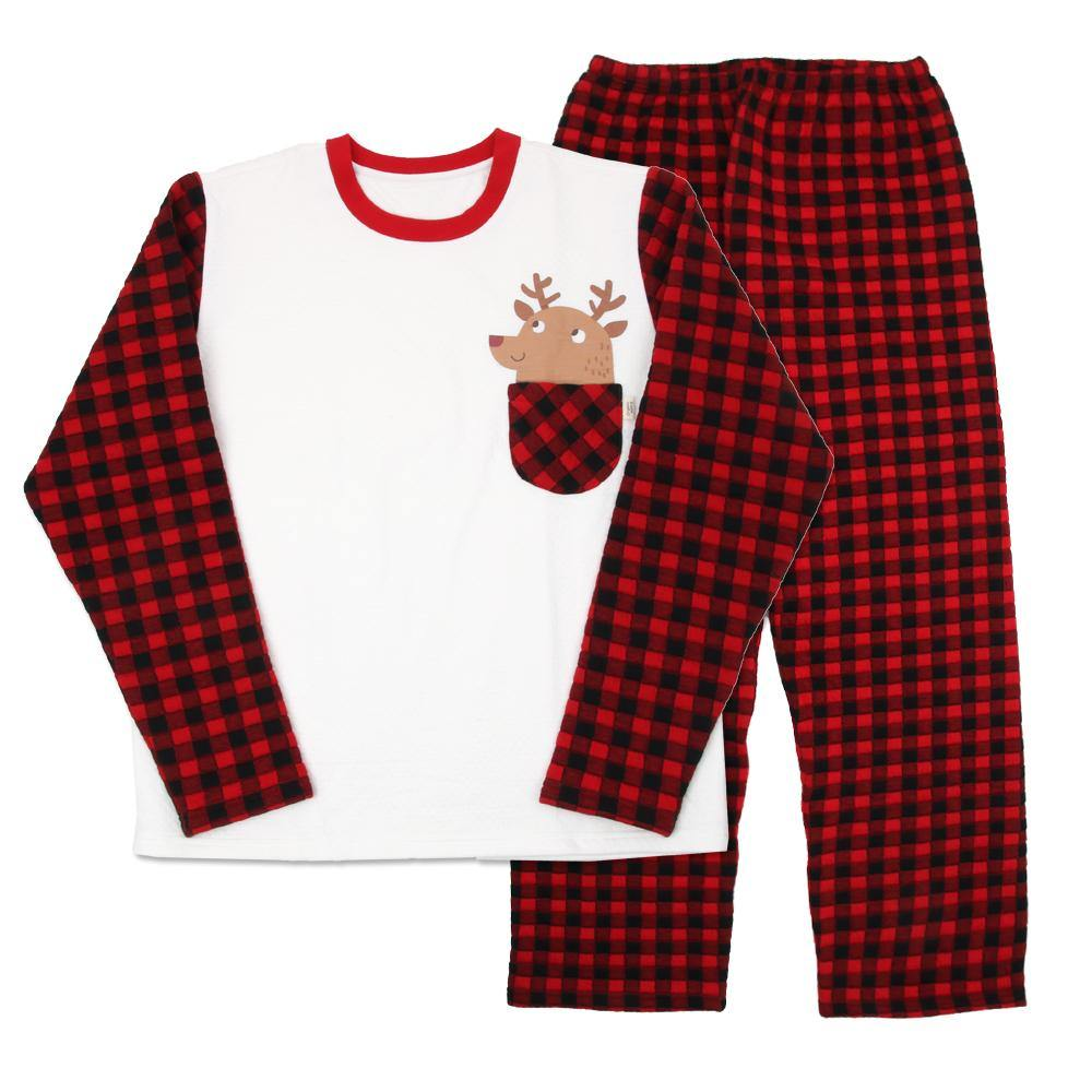 """LIMITED EDITION"" Family Christmas Reindeer PJ MOM/DAD"