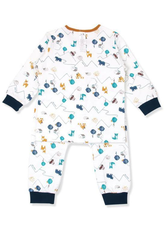 Little Animal Kingdom Boys PJ (Winter) - Organic Mom Hong Kong