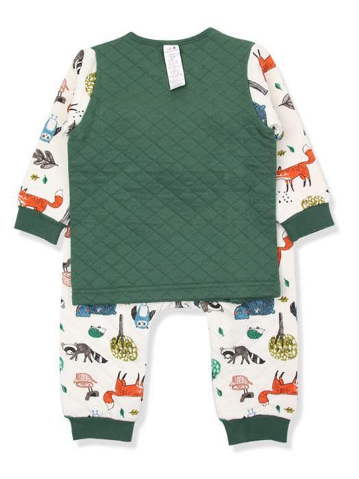 Be My Friend Racoon Toddlers PJ (Winter)