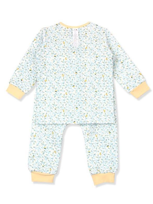 French Floral Girls PJ (Winter) - Organic Mom Hong Kong