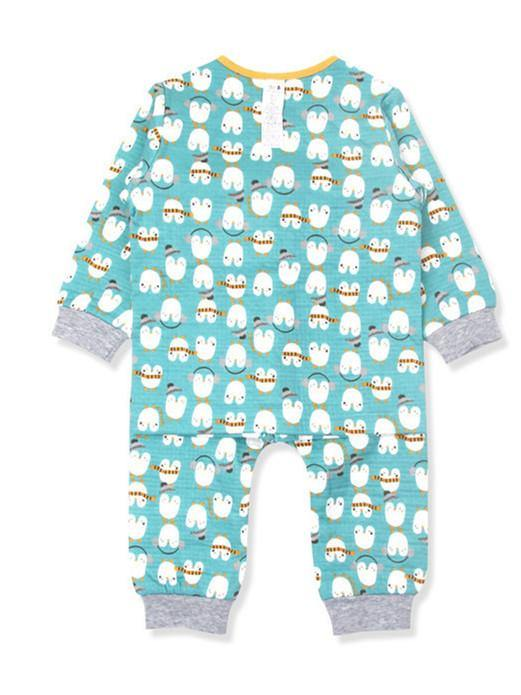 Happy Penguin Toddlers PJ(Winter) - Organic Mom Hong Kong