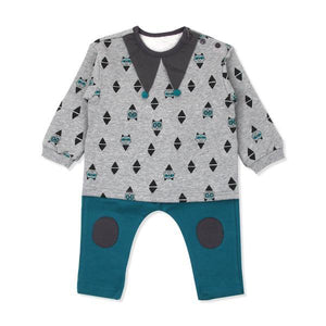 Prince charming top-bottom set outerwear(Fall) - Organic Mom Hong Kong