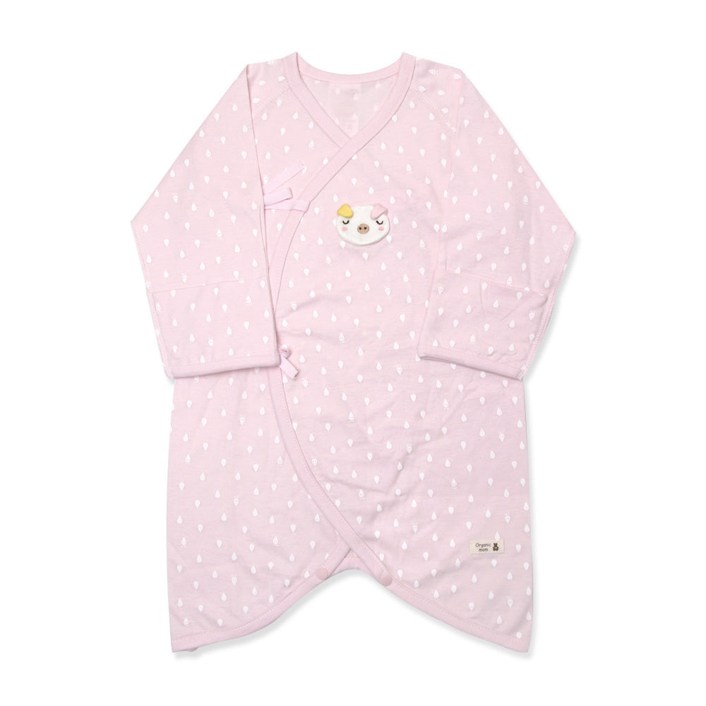 Pinky Piggy Newborn Gown (SPRING/SUMMER)