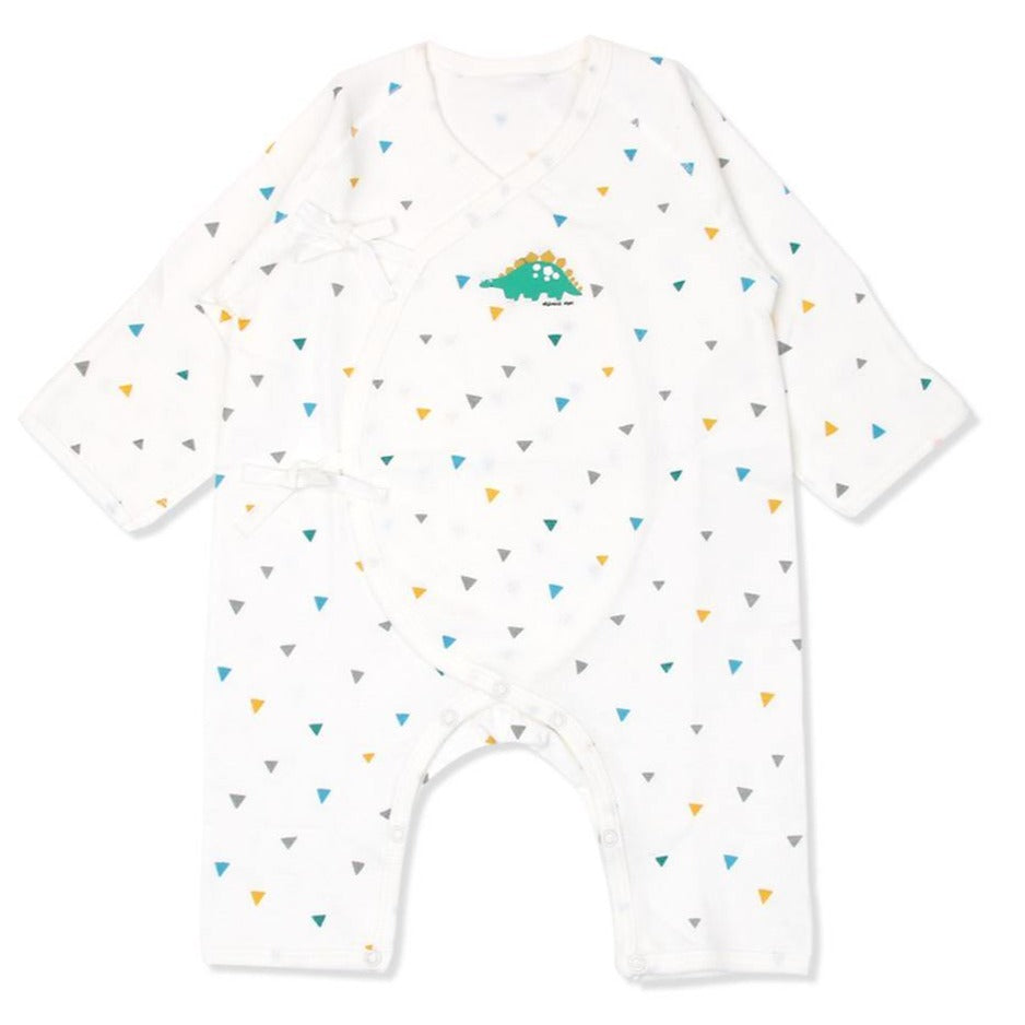 DRAKE DINO BABY SWADDLE GOWN (FALL)