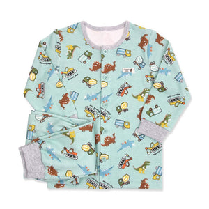 Dinosaur Race Toddler PJ (FALL/WINTER)