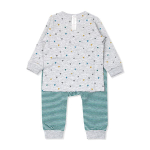 Dino World Toddler PJ (FALL/WINTER) - Organic Mom Hong Kong
