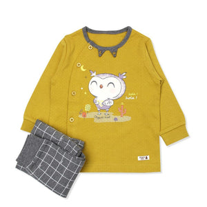 Nighty Owl Toddler PJ (FALL/WINTER) - Organic Mom Hong Kong