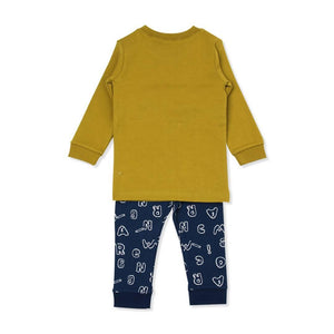 Detective Fox Toddler PJ (FALL/WTINER) - Organic Mom Hong Kong