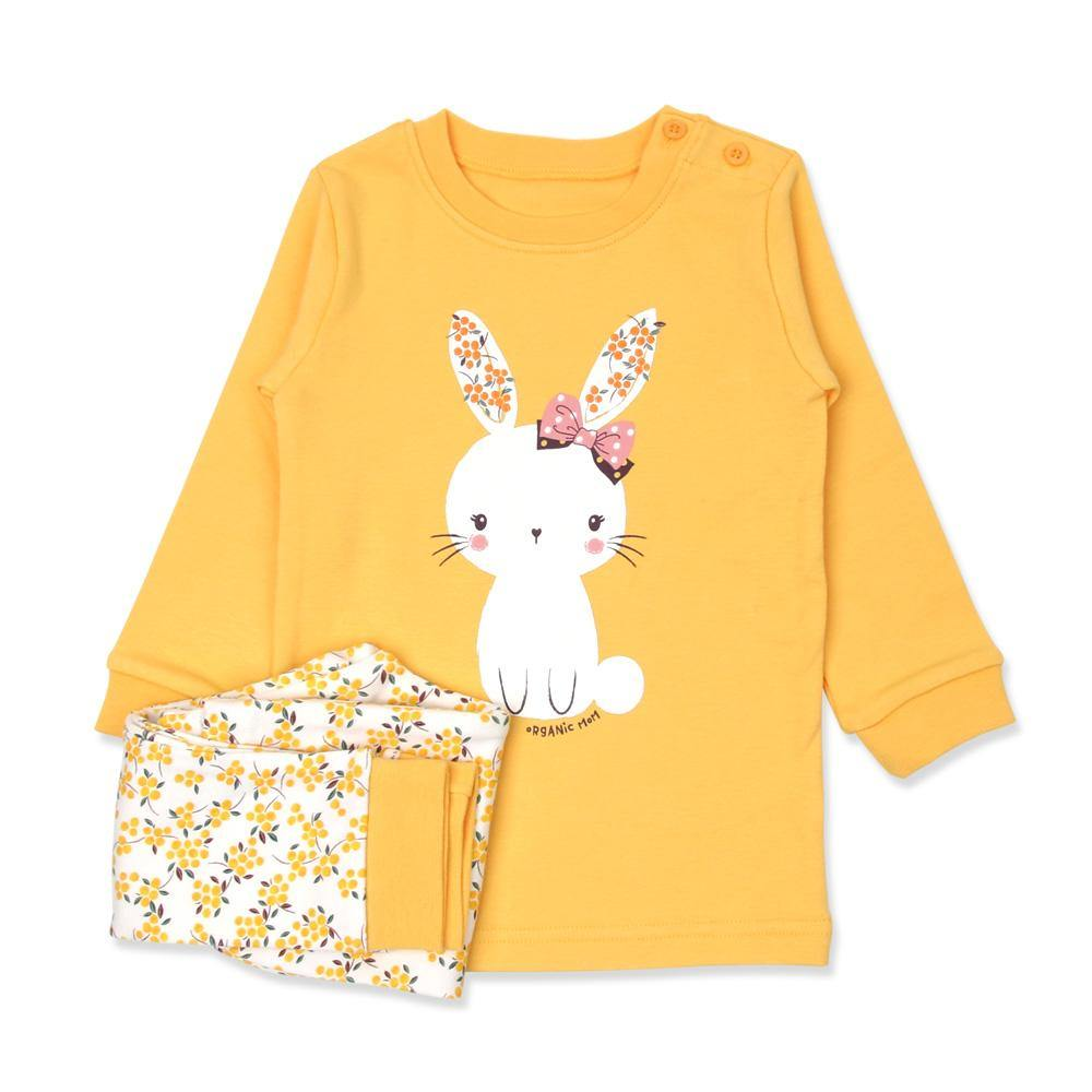 Beany Bunny Toddler PJ (FALL/WINTER) - Organic Mom Hong Kong