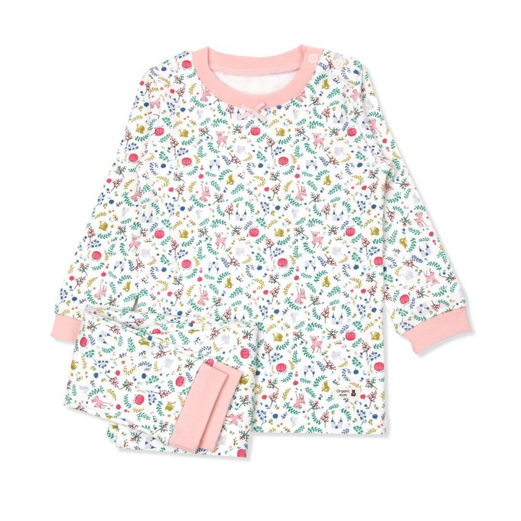 Floral Garden Toddler PJ (FALL/WINTER) - Organic Mom Hong Kong