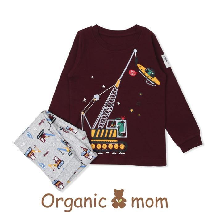 UFO Tractor Big Boy PJ (Fall/Winter) - Organic Mom Hong Kong