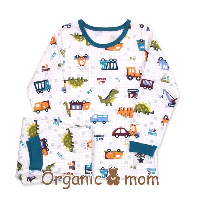 Dinosaur Race Big Boy PJ(Fall/Winter) - Organic Mom Hong Kong