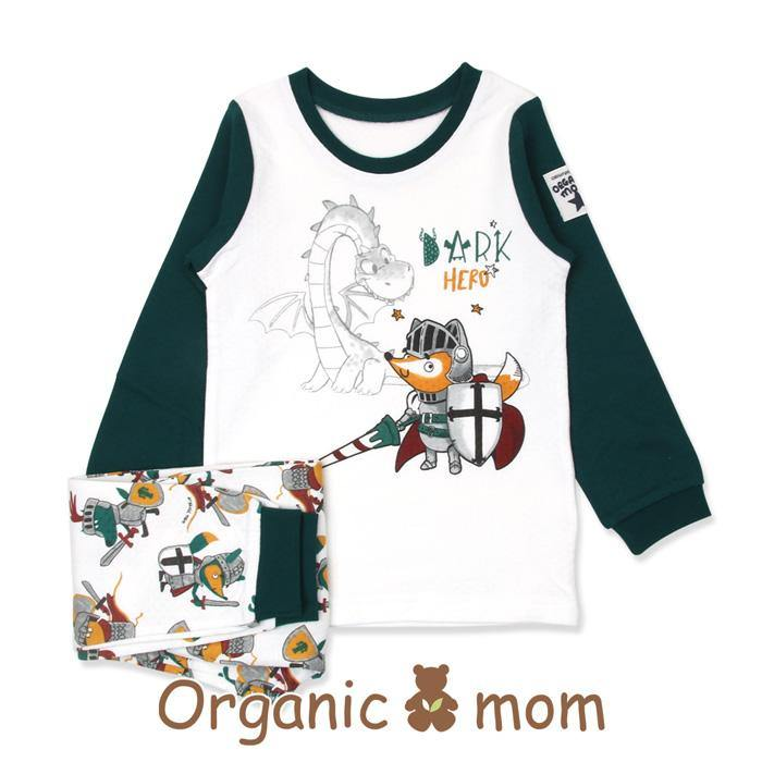 Knighty Night Big Boy PJ (Fall/Winter) - Organic Mom Hong Kong