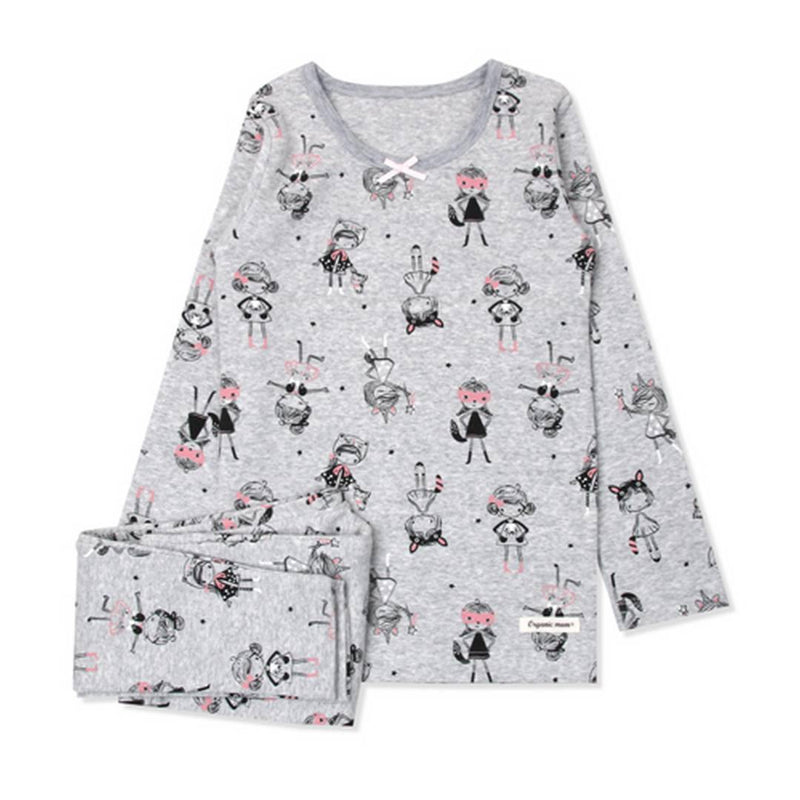 Super Catgirl Big Girl PJ MEZ1SS16 - Organic Mom Hong Kong