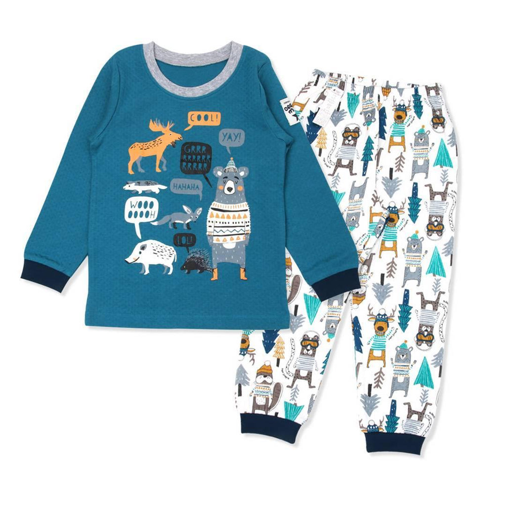 Winter Paradise Big Boy PJ (Fall/Winter) - Organic Mom Hong Kong