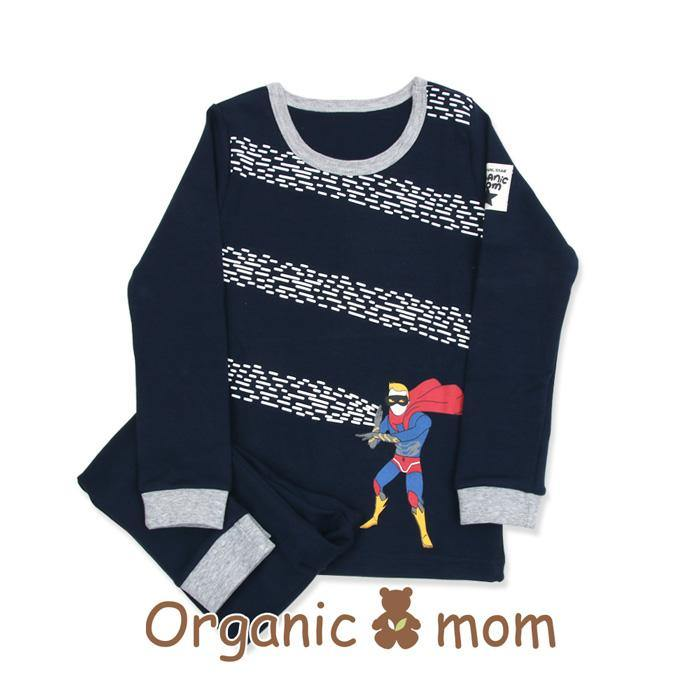 Dark Knight Big Boy PJ(Fall/Winter) - Organic Mom Hong Kong
