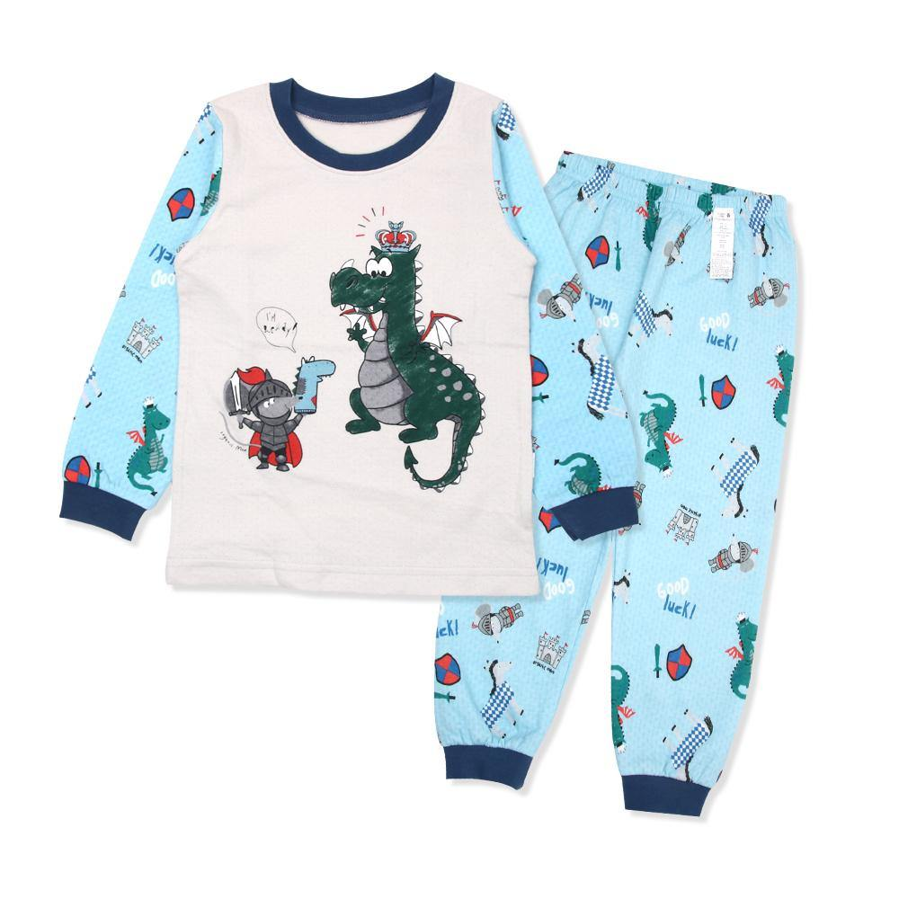 Knighty Dino Big Boy PJ (Fall/Winter) - Organic Mom Hong Kong