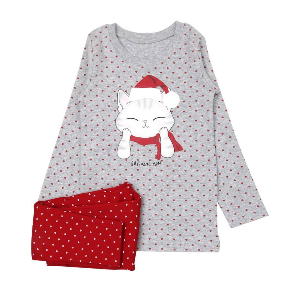 Happy Miaoliday Big Girl PJ (Fall/Winter)