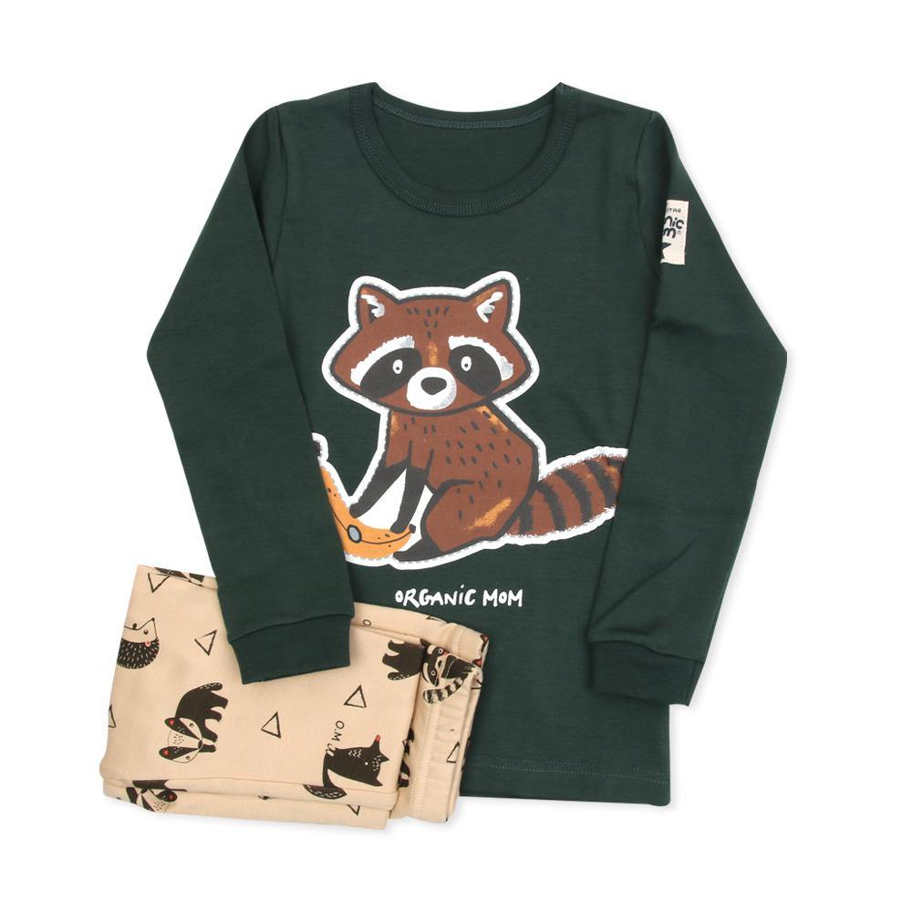 Rack Raccoon Big Boy PJ (Fall/Winter) - Organic Mom Hong Kong