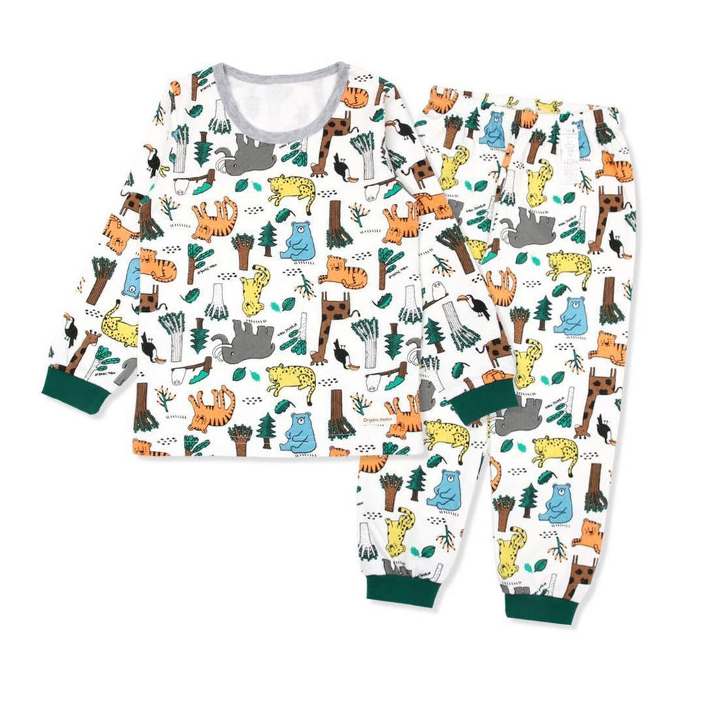 Forest Fun Big Boy PJ (Fall/Winter) - Organic Mom Hong Kong