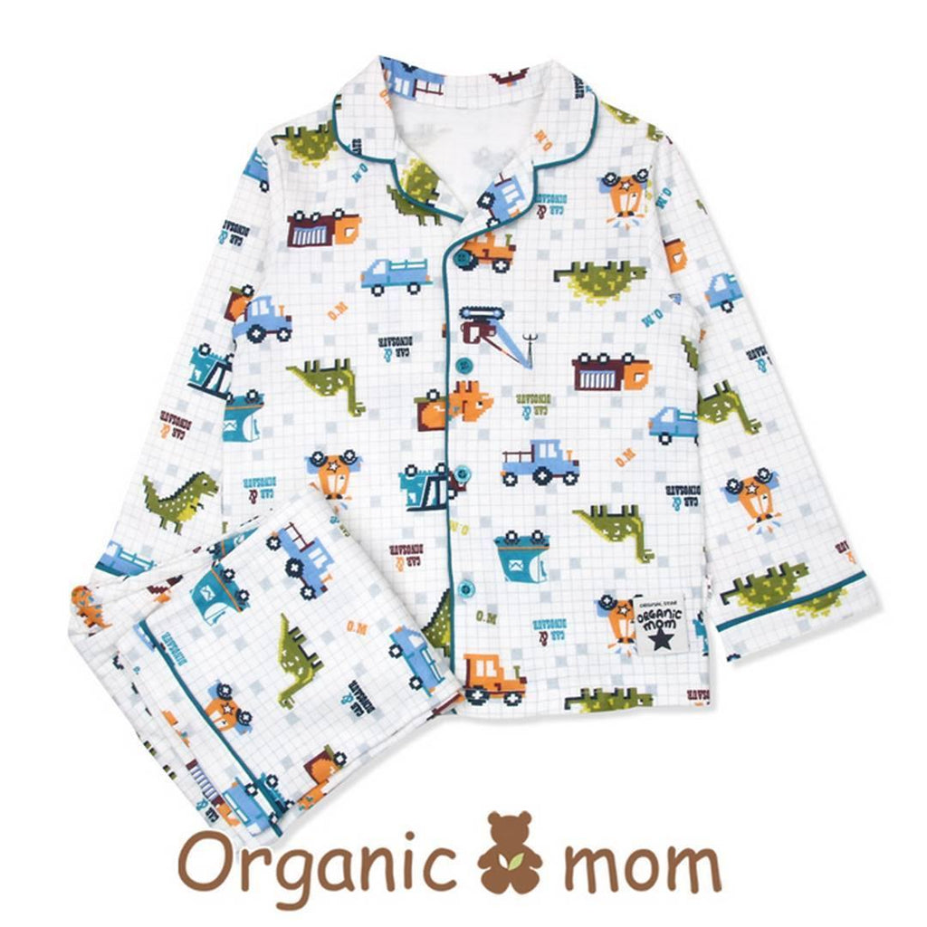 Mr Car Big Boy PJ Set (Fall/Winter) - Organic Mom Hong Kong