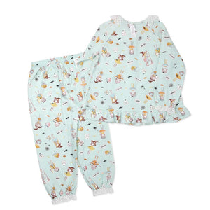 Tiara Big Girl PJ Set (Fall/Winter) - Organic Mom Hong Kong