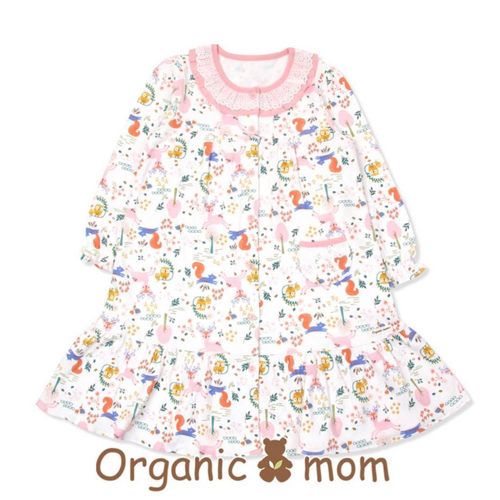 Selena Big Girl PJ Dress (Fall/Winter) - Organic Mom Hong Kong