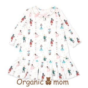 The Nut Cracker Big Girl PJ Dress (Fall/Winter) - Organic Mom Hong Kong