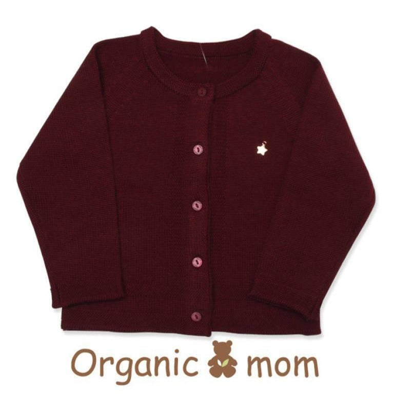 Organic mom Melissa Wine Knit Wweater(Winter)