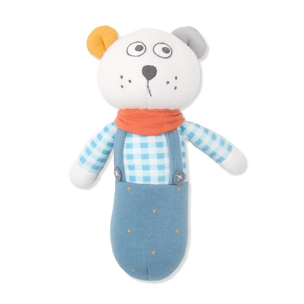 Lepoang Bear Toy Rattle - Organic Mom Hong Kong