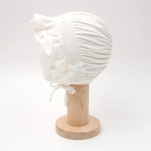 Princess white hat (Fall & winter) - Organic Mom Hong Kong