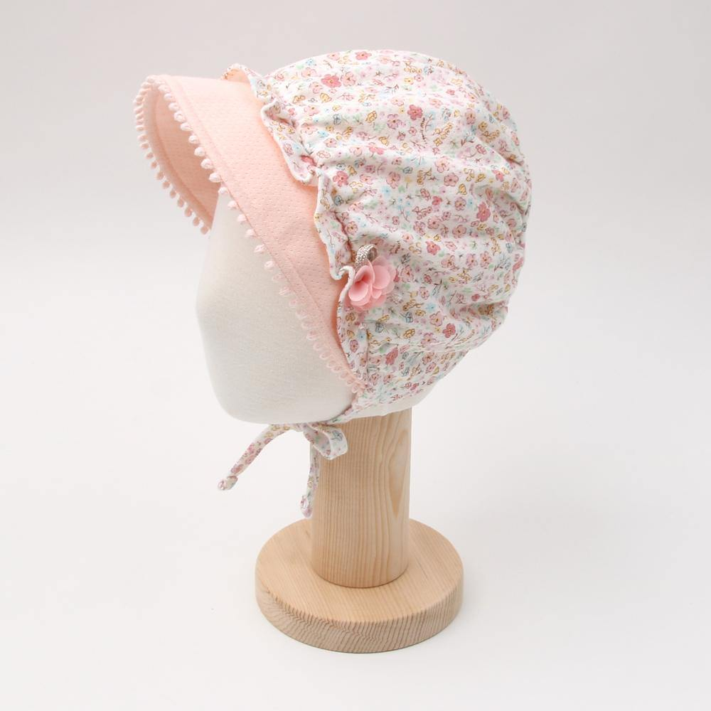 Sandy floral  hat (Fall & winter)