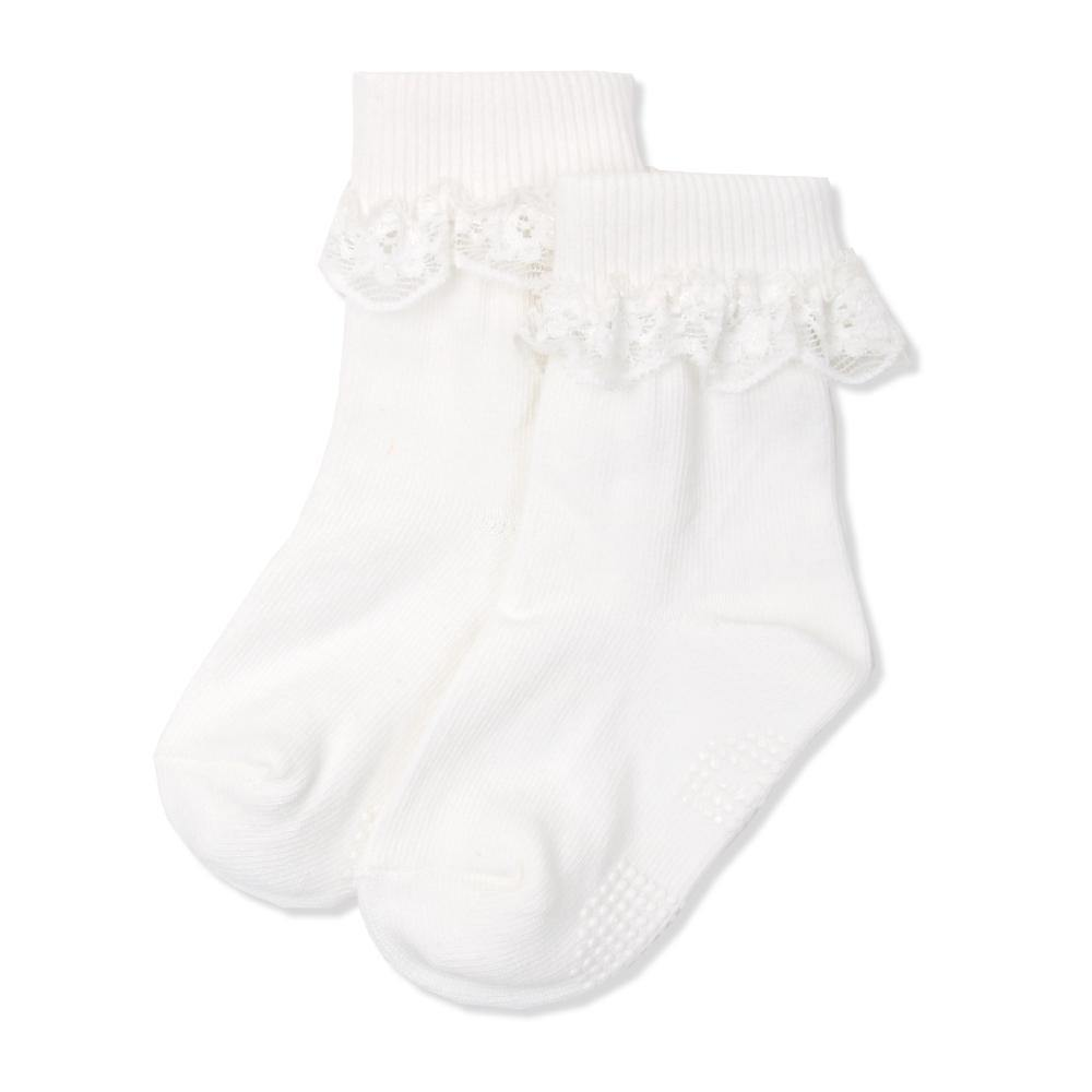 Royal white Socks  (Fall & Winter) - Organic Mom Hong Kong