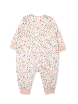 Lillian Floral  Organic Cotton Onesie (Fall & Winter) - Organic Mom Hong Kong