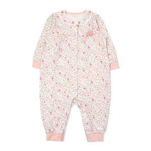 Lillian Floral  Organic Cotton Onesie (Fall & Winter)