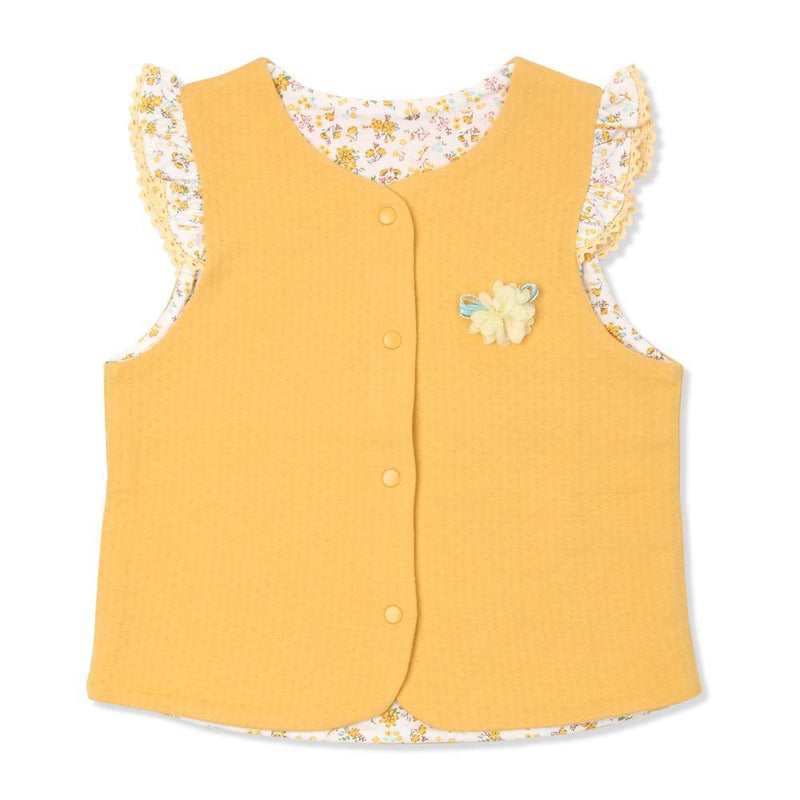Lancy Floral Vest(Fall & Winter)