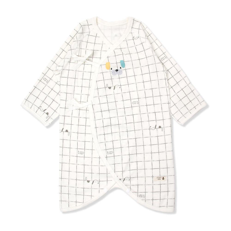 Patrick Puppy swaddle gown ( Fall & Winter) - Organic Mom Hong Kong