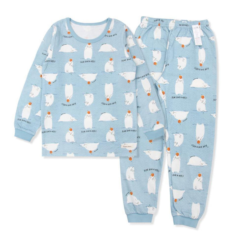 Po Bi Polar Bear Big Boy PJ (Fall & Winter) - Organic Mom Hong Kong