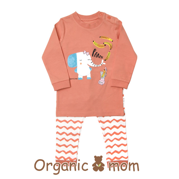 Mink The Elephant Toddler PJ (SPRING)