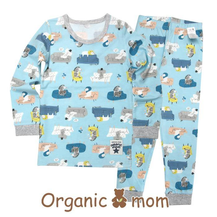 Animal Party Big Boy PJ (SPRING) - Organic Mom Hong Kong