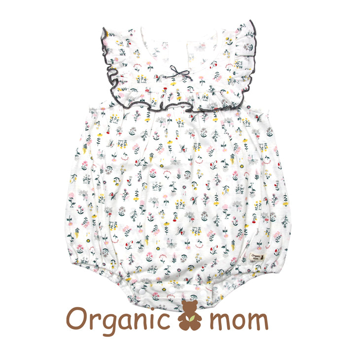 Jenny Floral Organic Cotton Bodysuit (SUMMER)