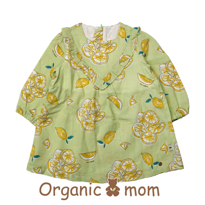 Organic Mom Freshly Lemon Dress (SPRING)