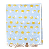 Rainy Piggy (blue) Swaddle Blanket (SPRING/SUMMER)